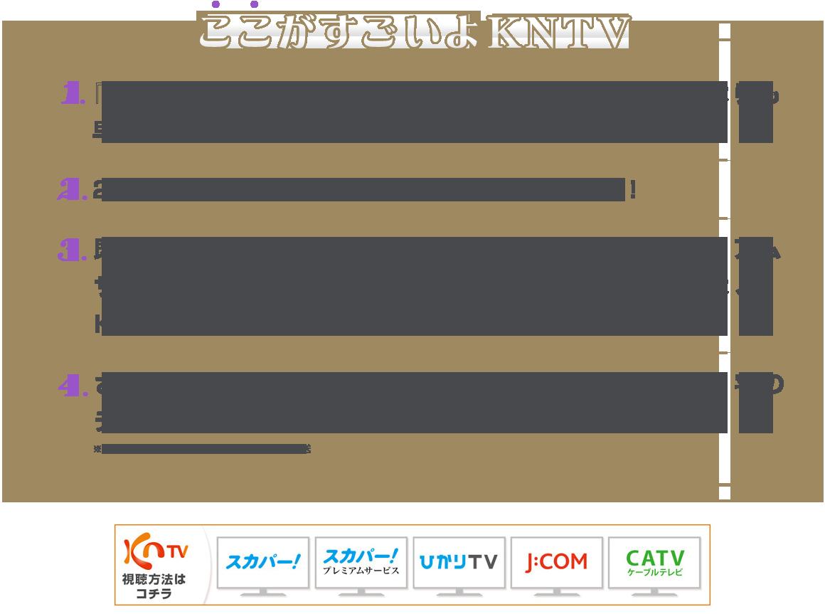 表 kntv 番組